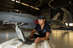 Louisa Lee, Graduate Engineer – Structures/Mechanical Air Combat Electronic Attack Sustainment Program